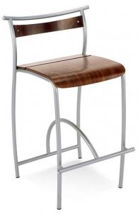 Бар стол DOLLY hocker chrome