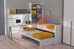 Уникални детски стаи с две легла по клиентски размери
