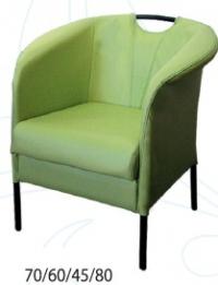 Зелено кресло дизайнерско