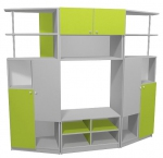 шкафчета за детски градини 29437-3188