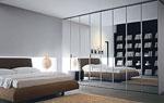 Спалня по поръчка с мека тапицерия с пълнеж