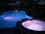 Светодиодно осветление за басейни