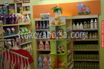 изработване на стелаж за детска козметика по поръчка