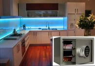 Кухня с вграден сейф Сейф T – 17 EL комплект