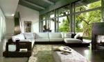 луксозен дизайнерски диван с вградено барче по поръчка