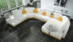 луксозна мека мебел с лежанка