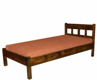 Единично легло за спалня от чам