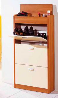 Шкаф за обувки с размери 138/73/25см