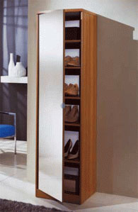 Шкаф за обувки с размери 184/49/44см