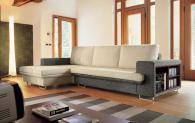 Италиански диван Solaris с библиотечка