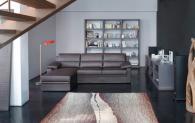 Модерен италиански ъглов диван