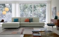 Дизайнерска италианска мека мебел Aliante
