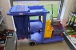 Специализирани камериерски колички за почистване