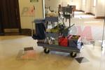 Професионална камериерска количка мултифункционална