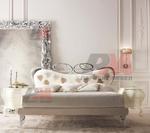 Издръжливи дизайнерски спални ковано желязог