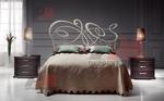 Луксозни дизайнерски спални ковано желязо