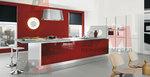Поръчкова изработка на модерни кухненски мебели с пуш бутони